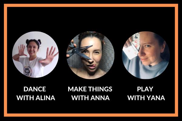 Papaya Stories Team Dance, Play, Make things